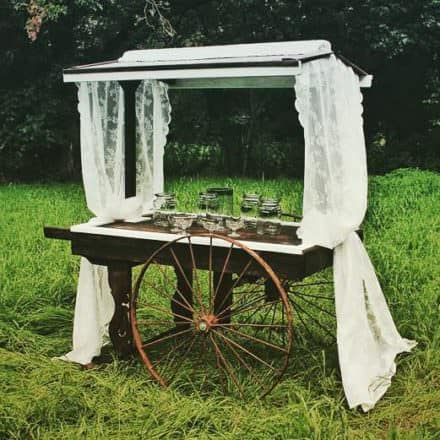Wedding Cart From Pallets