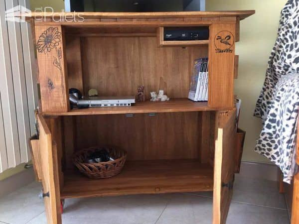 Woodbee – TV Stand Furniture Pallet TV Stand & Rack