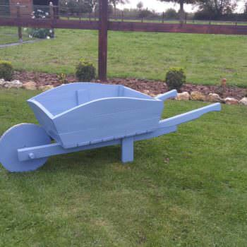 Wheelbarrow From Recycled Pallets