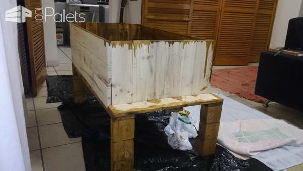 Pallet Coffee Table With Drawer Pallet Coffee Tables