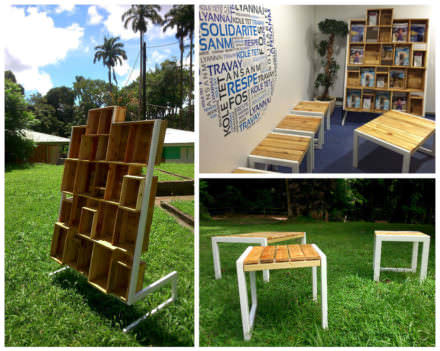 When A Designer Play With Wooden Pallets