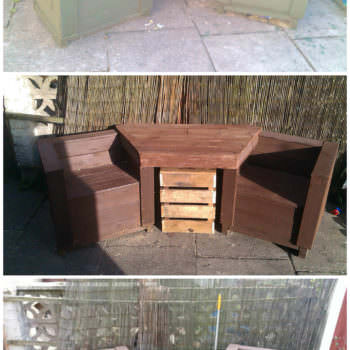 Outdoor Bench & Table