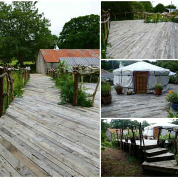 Pallet Deck With Accessible Ramp