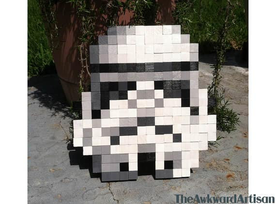13 Star Wars Creations From Recycled Pallets Pallet Benches, Pallet Chairs & Stools