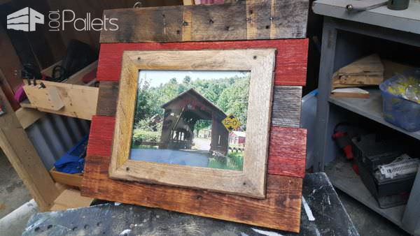 Back Drops for Picture Frames Pallet Wall Decor & Pallet Painting