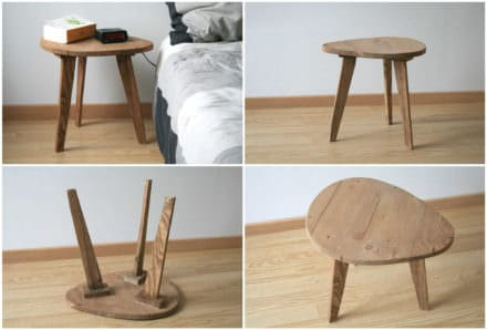 Bedside Table From Pallets