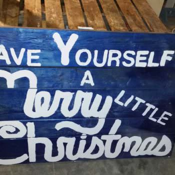 Christmas Sign For My Front Yard