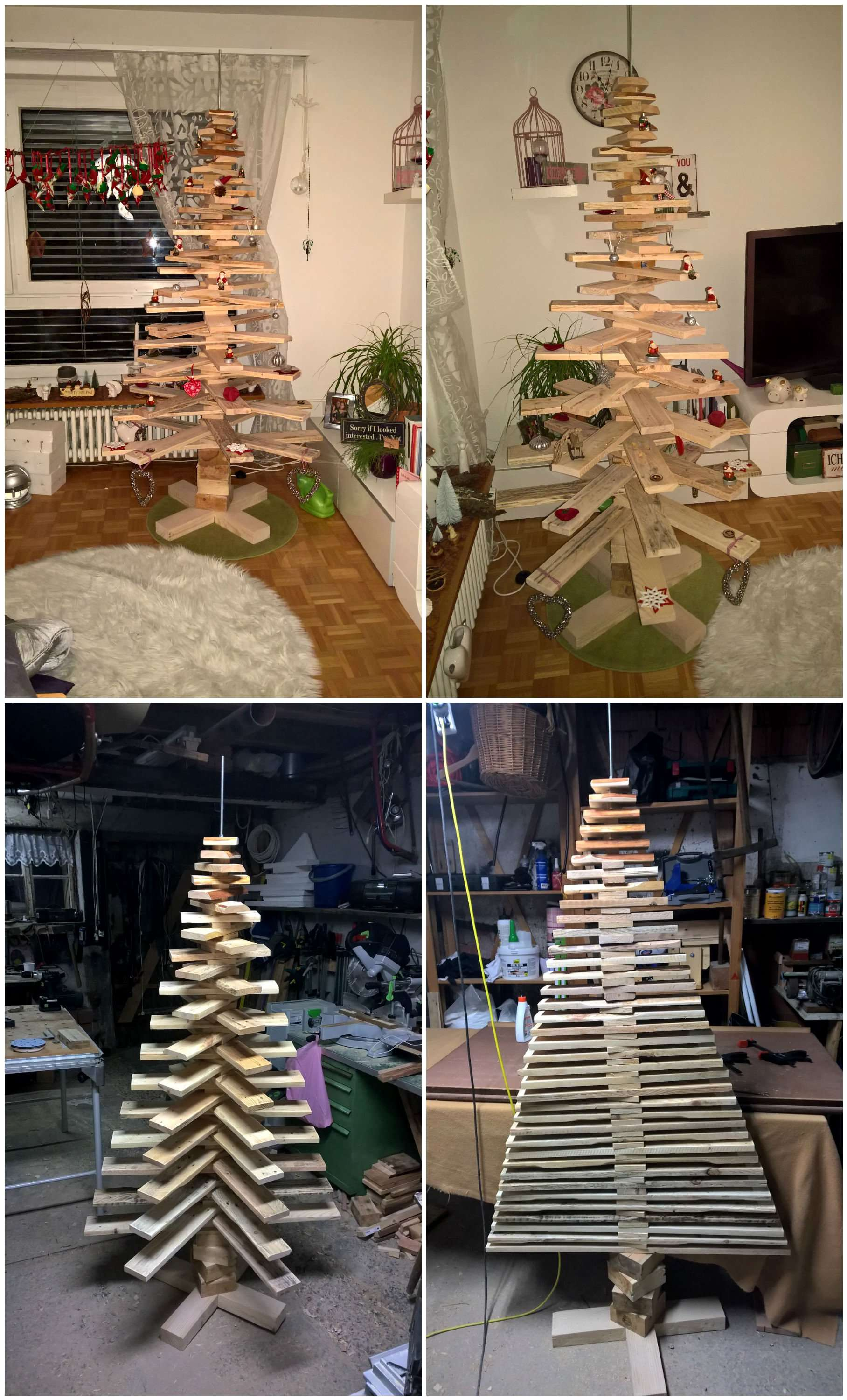 Pallet Christmas Tree • 1001 Pallets