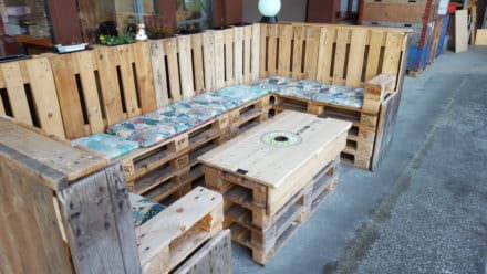 Cocktail Lounge From Pallets
