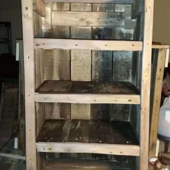 Dvd Bookshelf From Three Repurposed Pallets