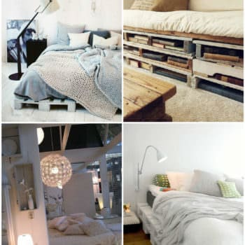 Easy DIY Ideas For Pallet Beds