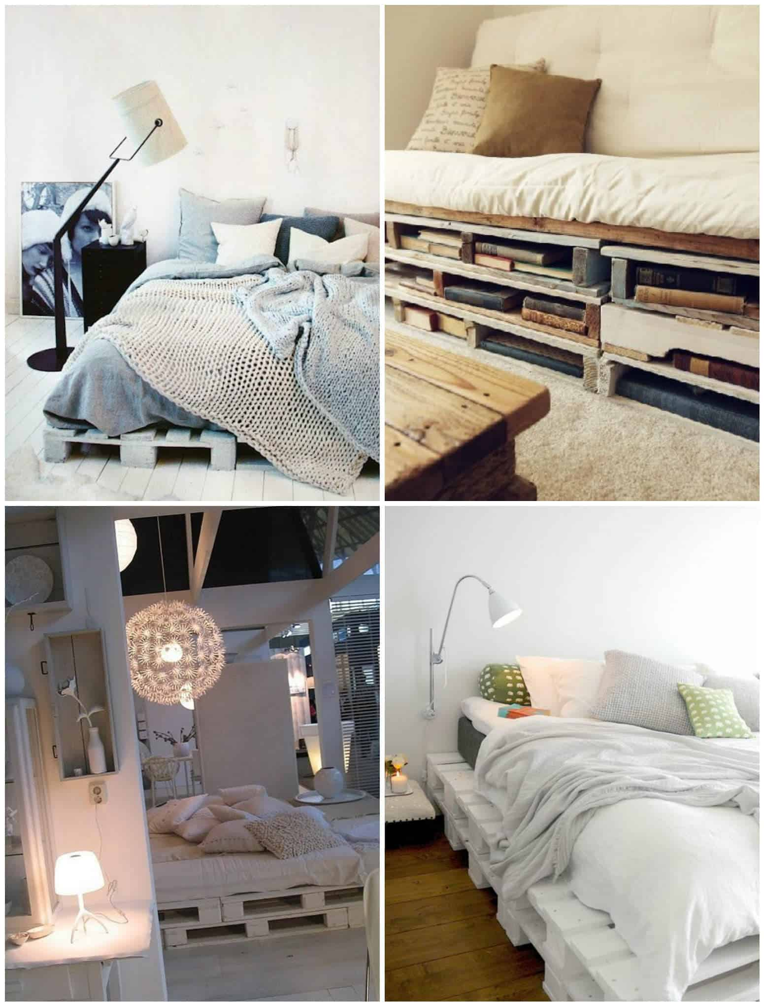 Easy DIY Ideas For Pallet Beds • 1001 Pallets
