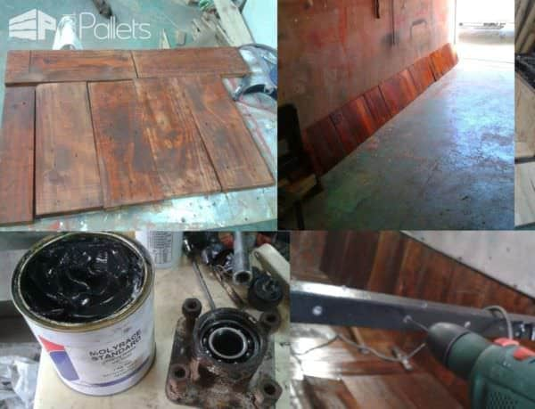 How I Renovated a Trailer With Pallet Wood Lounges & Garden Sets