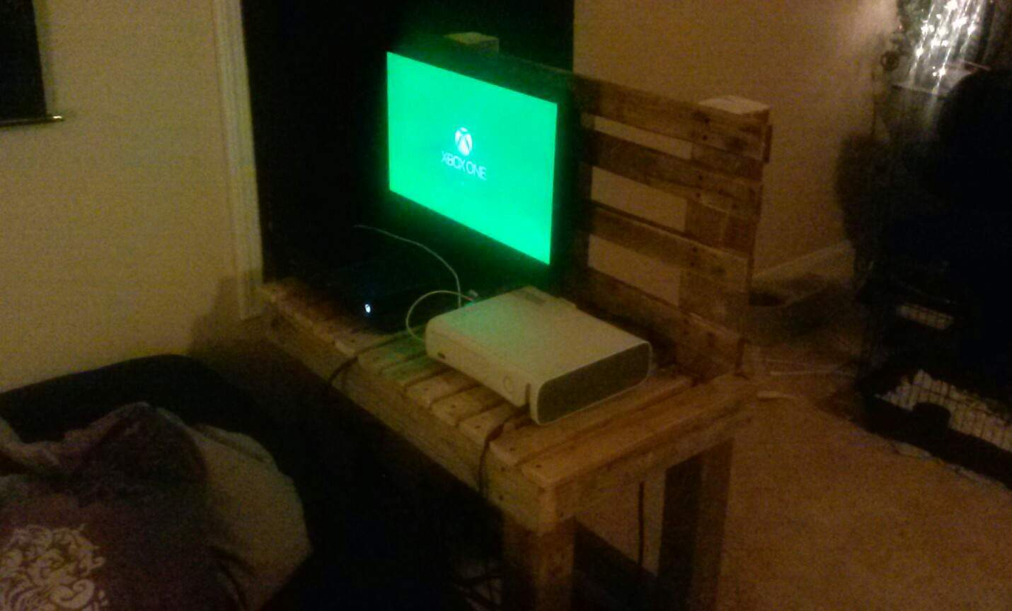 Diy Tv Stand Ideas And Tips From 1001pallets # Meuble Tv Amplifier