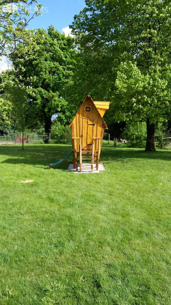 Kids Hut by Nico / Cabane by Nico Pallet Sheds, Pallet Cabins, Pallet Huts & Pallet Playhouses