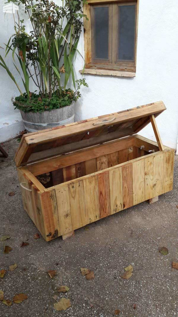 Pallet Chest/Seat Lounges & Garden Sets Pallet Boxes & Chests