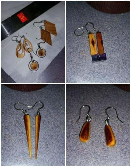 Pallet Earrings