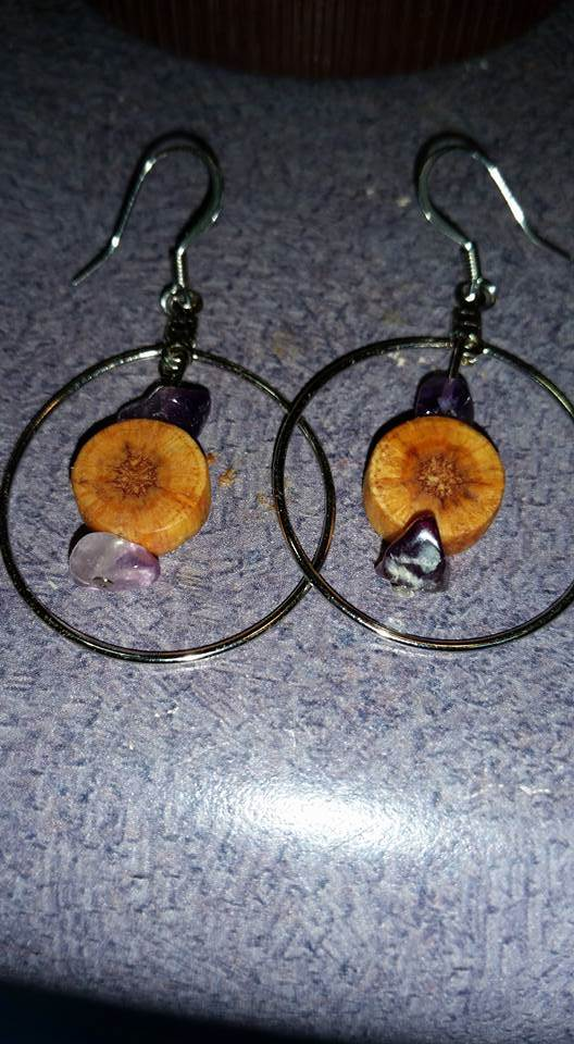 Pallet Earrings Pallet Home Accessories