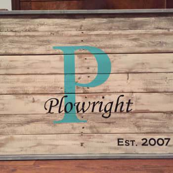 Pallet Family Name Sign