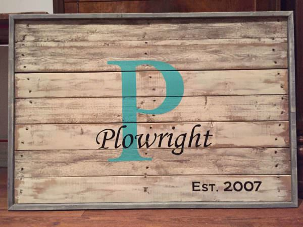 Pallet Family Name Sign Pallet Wall Decor & Pallet Painting