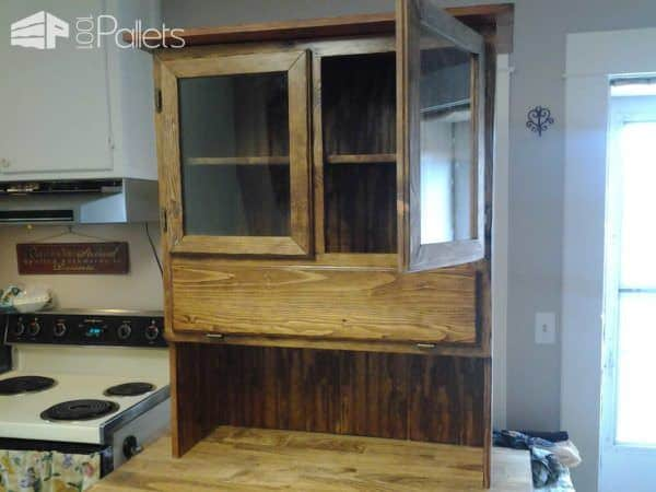 Pallet Kitchen Hutch Pallet Cabinets & Wardrobes