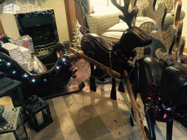 1001pallets.com-reindeers-and-sleigh4