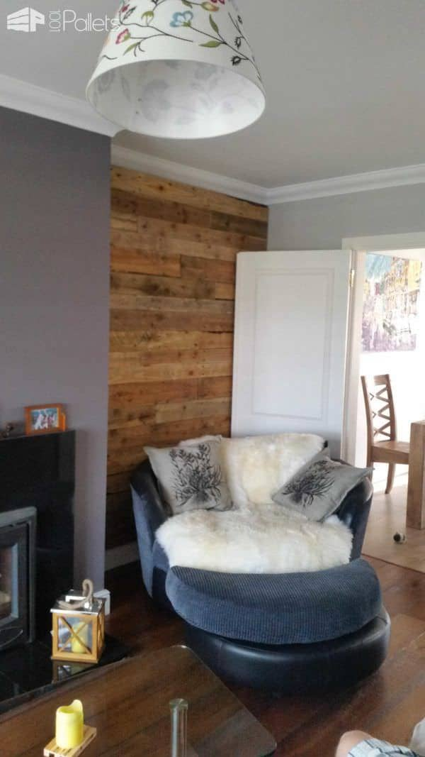 How to Build a Pallet Wall Pallet Walls & Pallet Doors