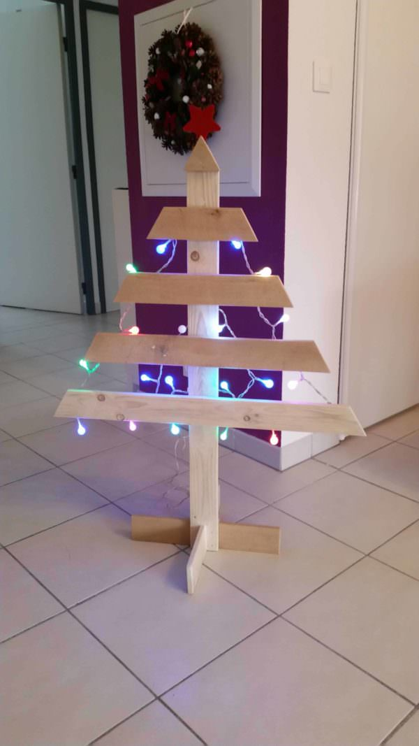 Simply Elegant Two-hour Pallet Christmas Tree Pallet Home Accessories
