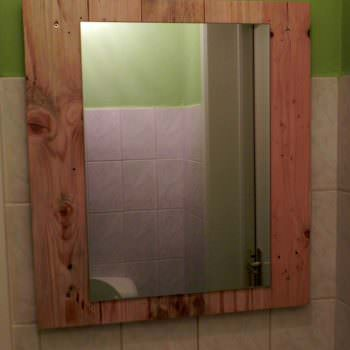 Support Mirroir / Pallet Mirror
