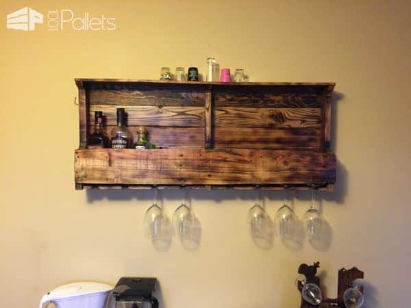 Ted's Pallet Projects Pallet Shelves & Pallet Coat Hangers