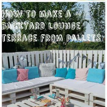 The Backyard Lounge/Party Terrace You Need for Your 2016 Summer