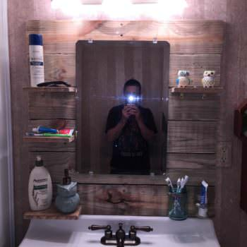 Bathroom Mirror Project