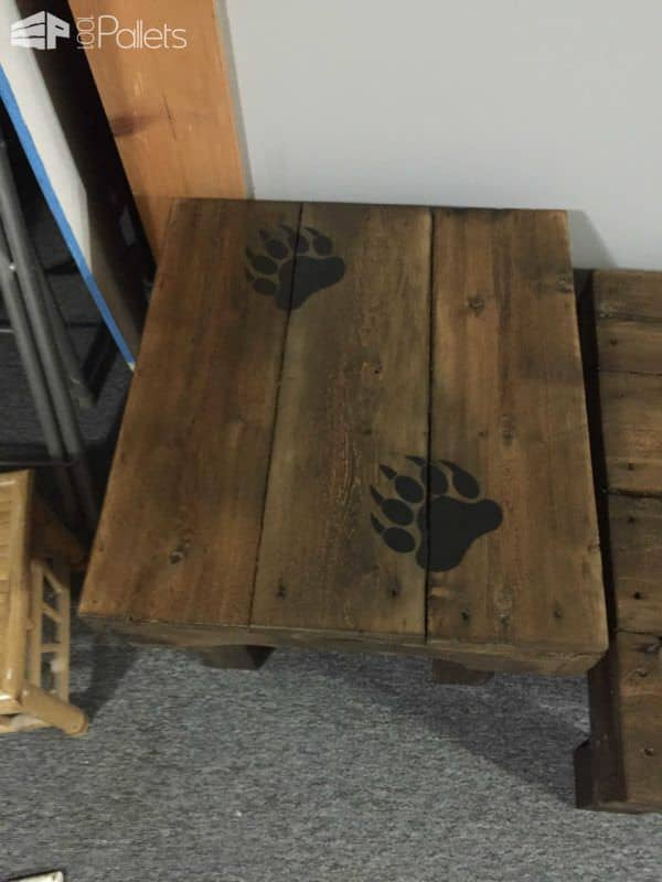 Bear Claw Coffee Table & End Tables Pallet Coffee Tables