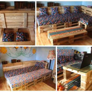 Can You Convert Your Pallet Lounge Into a Double Bed at Night ?
