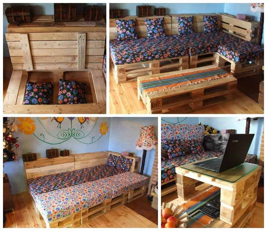 Can You Convert Your Pallet Lounge Into A Double Bed At
