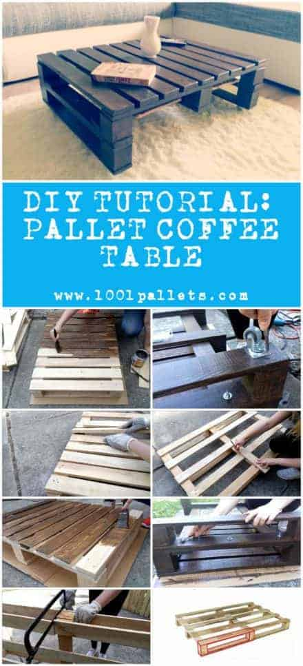 Diy Tutorial: Pallet Coffee Table