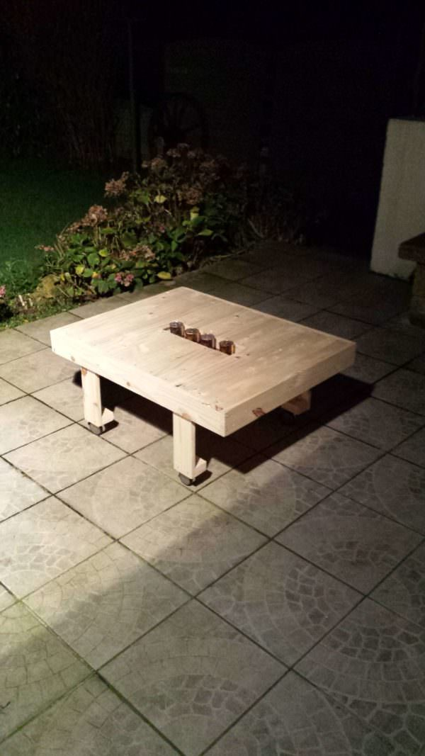 Fancy Coffee Table Pallet Candle Holders Pallet Coffee Tables