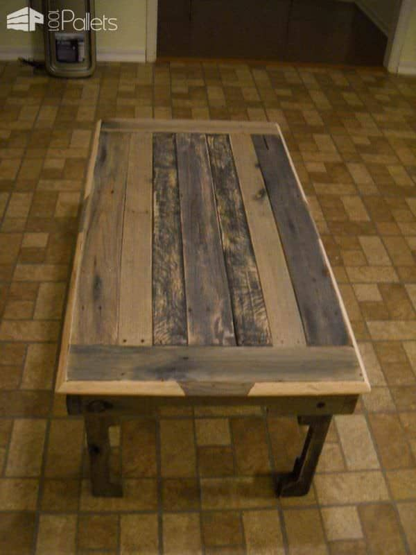 From Pallet to Eligant Pallet Coffee Tables
