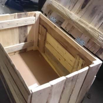 My First Project Ever: A Pallet Chest