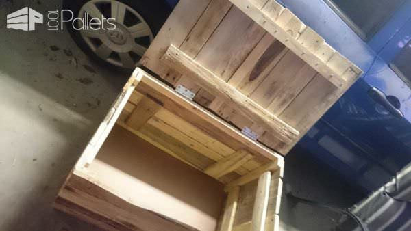 My First Project Ever: A Pallet Chest Pallet Boxes & Pallet Chests