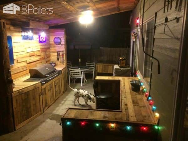 My Summer Pallet Project: Outdoor Kitchen Pallet Sheds, Pallet Cabins, Pallet Huts & Pallet Playhouses