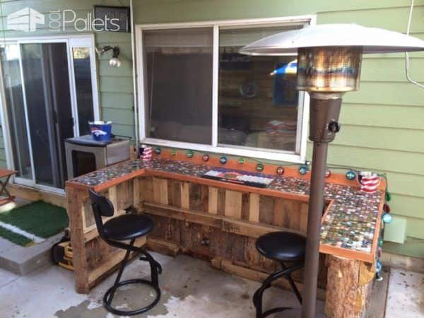 My Summer Pallet Project: Outdoor Kitchen Pallet Sheds, Cabins, Huts & Playhouses