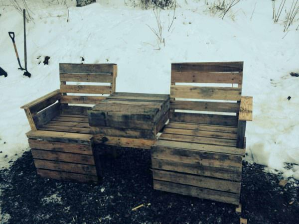 Pallet Bench DIY Pallet Furniture Pallet Benches, Pallet Chairs & Pallet Stools