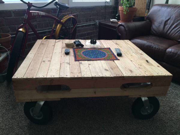 Pallet Builds Pallet Coffee Tables