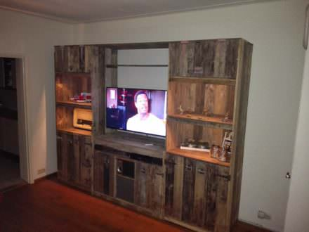 Posts found with pallet cabinet 1001 pallets - Cupboards made from pallets ...