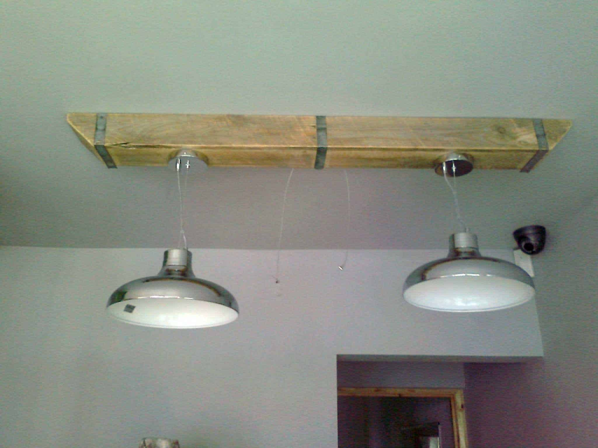 Pallet Wood Box Beam For Over Counter Lighting 1001 Pallets