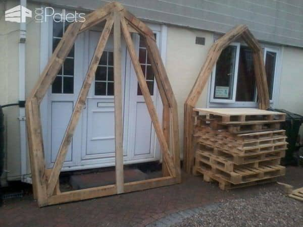 Pallet Workshop For Less Than 120$ Pallet Sheds, Pallet Cabins, Pallet Huts & Pallet Playhouses