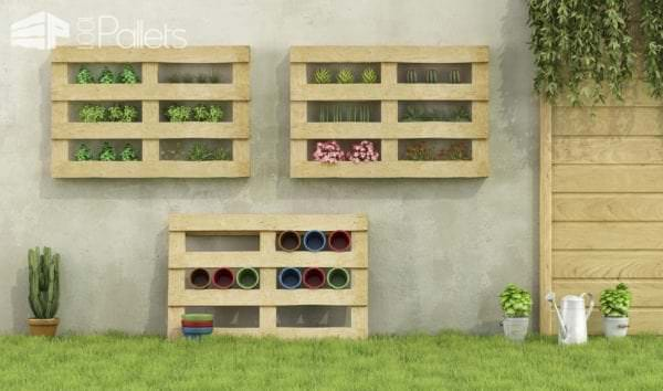 Reusing Old Pallets for Garden Projects