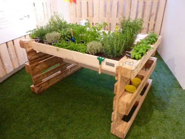 Reusing Old Pallets for Garden Projects Pallet Planters & Pallet Compost