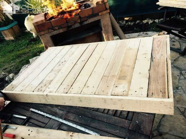 Table Basse En Palettes / Pallet Coffee Table Pallet Coffee Tables